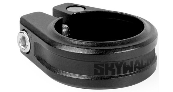 Sixpack Skywalker Seteklemme 34,9 mm Svart